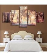 The Autumn Shade, 5 Panel Framed Canvas Art Home Decor Wall Art - $79.95+