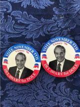Lot of 18 Political Buttons Pinback Nixon Johnson Obama Carter Dole Bush Agnew image 3