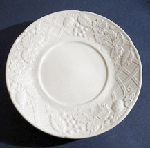 Mikasa ENGLISH COUNTRYSIDE Tea Saucer White Embossed New - $14.90