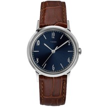 Timex Marlin Navy Dial 34 mm Limited Edition - $199.00