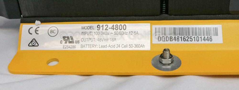 Delta Q Quiq Onboard 48V Caricabatterie 912-4800 Golf Cart ,Pavimento Scrubber