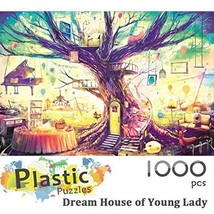 Ingooood - Jigsaw Puzzle 1000 Pieces- Dream House of Young Lady- IG-0509- Entert