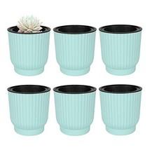 T4U Plastic Self Watering Planter, Long Term Water Storage Plant Pot/Mac... - $19.47