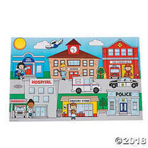 Giant Community Helpers Sticker Scenes - $12.49