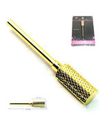 High Quality Premium Gold Nail Carbide Bit For 3/32 Electric Drill Nail ... - $16.18