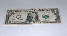 2013 $1 One Dollar Bill US Note 3-46s 1-41 3-64s 46464641 Fancy Serial Number # - $13.78