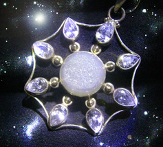HAUNTED NECKLACE QUEEN WITCH STARS PERFECT ALIGNEMENTS WITH GIFTS MAGICK... - $9,197.77