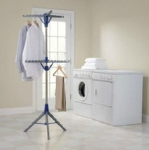 Portable 2 Tier Clothes Air Dryer Rack Laundry Room  - £50.07 GBP