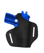 NEW Barsony Black Leather Pancake Gun Holster Astra AMT CZ Mini-Pocket 2... - $39.99