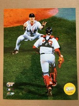 Boston Red Sox 2007 World Series Papelbob & Varitek Glossy 8 X 10 Photo DM1 - $5.99