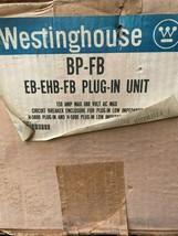 Westinghouse Cat# BP-FB Busway Circuit Breaker Enclosure New Free Shipping - $233.71