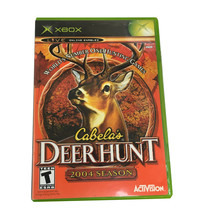 Microsoft Game Cabela's deer hunt 2004 season - $3.99