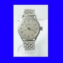 Stunning WW2 Steel Omega Non-Magnetic Military Wrist Watch 1944 - $1,517.80
