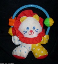 VINTAGE 1996 FISHER PRICE BABY CIRCUS CLOWN 1188 RATTLE STUFFED ANIMAL P... - $18.70