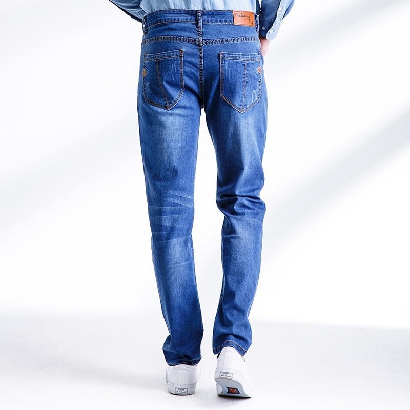 Vintage men's jeans nostalgia Brand new men jeans, casual jeans, pure color