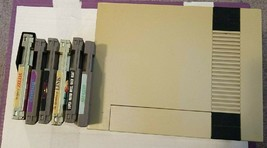 Nintendo Entertainment System Deluxe Gray Console 6 games included - $110.00