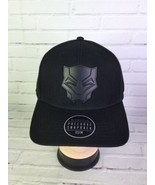Marvel Comics Black Panther Metal Logo Precurve Snapback Hat Cap Adjusta... - $35.52