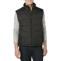 Men's Premium Zip Up Water Resistant Insulated Puffer Sport Vest