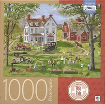 Family Gathering Art By Bob Fair 1000 Piece Puzzle - $34.98