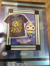 Brand New POP! and Tee: Retro Mega Man T-Shirt - Medium, Sealed In Box! - $24.75