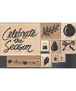 Stampin' Up! Two-Step Stampin Celebrate The Season Set of 10 Retired 199... - $49.99