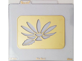 Sizzix Metal Embossing Plate, Daisy Flower #38-9532 image 1