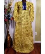 ANKARA AFRICAN WOMEN MAXI DRESS PRINT HANDMADE - $87.08