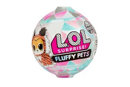 LOL L.O.L Surprise Lot of 3 Winter Disco FLUFFY PETS Balls NEW Sealed Au... - $29.99