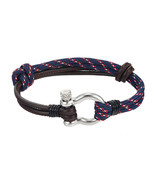 MKENDN Fashion Jewelry navy style Anchor leather Sport Camping Parachute... - $13.33