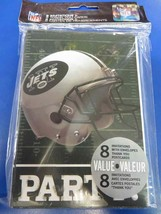 New York Jets NFL Pro Football Sports Banquet Party Invitations & Thank Yous - $10.66