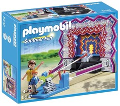 PLAYMOBIL 5547 Tin Can Shooting Game Summer Fun Play Set  New In Box Bes... - $35.64