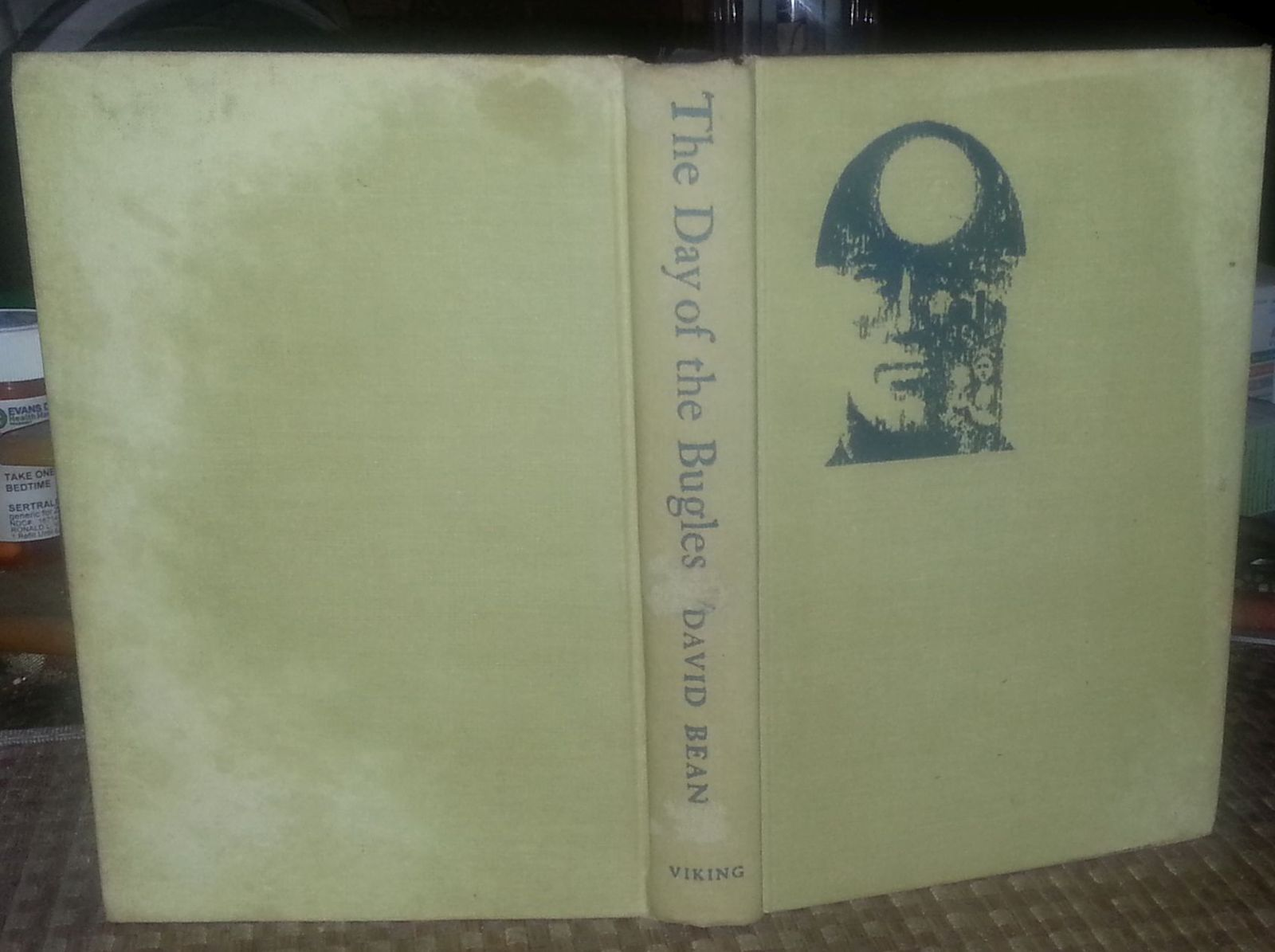 The Day of the Bugles by David Bean 1964 HB Northern England War Hero