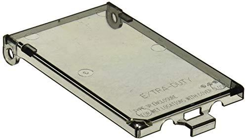 Arlington Industries DBVC-1 Wall Plate Cover, Clear image 2