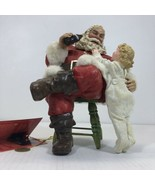 Vintage Coca Cola Santa Thanks For The Pause That Regreshes Original Wit... - $112.20