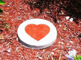 "16""x2"" ROUND PLAIN CONCRETE STEPPING STONE MOLD, MOULD- MAKE FOR PENNIES EACH image 6"