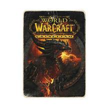 World of warcraft art poster gift wooden poster world of warcraft art de... - $55.00