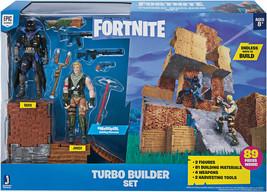"""Jazwares FORTNITE - Turbo Builder Set Jonesy Raven 4"""" (10.1 cm) - Brand New - $72.26"""