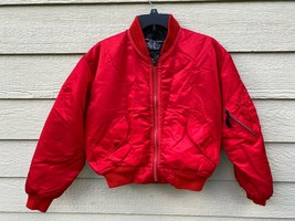 VINTAGE SCHOTT BROS JACKET FLYER'S INTERMEDIATE TYPE MA-1 - Size M (Made... - $123.75