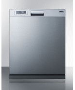 """Dishwasher 23.5"""" Built-In Integrated Stainless Steel Euro Kitchen Applia... - $921.99"""