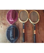 Wilson Mary Hardwick Signature Tennis Rackets Speed Flex/Fibre Face Hers... - $21.84