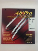 "Olson All-Pro Band Saw Blade 142"" x 1/2"", 3TPI for Rikon 10-340, 10-345 ... - $27.99"