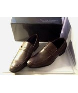 Mens Ferrera Couture Italian Collection Brown Slip On Shoes Size 8 Marco - $19.75