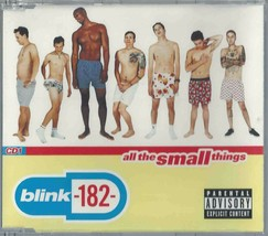 BLINK-182 - ALL THE SMALL THINGS / WHAT'S MY AGE AGAIN (LIVE) 1999 UK CD... - $12.40
