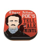 Edgar Allan Poe's Tell-Tale Mints in Illustrated Tins Box of 12 NEW SEALED - $43.53