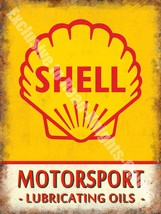Motorsport Lubricating Oils, Vintage Garage Petrol Fridge Magnet - $3.28