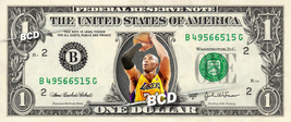 KOBE BRYANT on REAL Dollar Bill Lakers Money Cash Collectible Memorabilia - $8.88