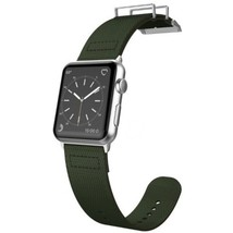 X-Doria 6950941456951 Field Band for 1.7-inch Apple Watch - Olive - $31.25