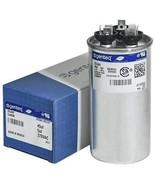 Genteq c3455r GE Round Capacitor 45 5 uf MFD, 97F9895, 370V - $19.29