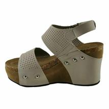 Pierre Dumas HESTER-23 Light Grey Women's Platform Wedge Sandals - $44.95