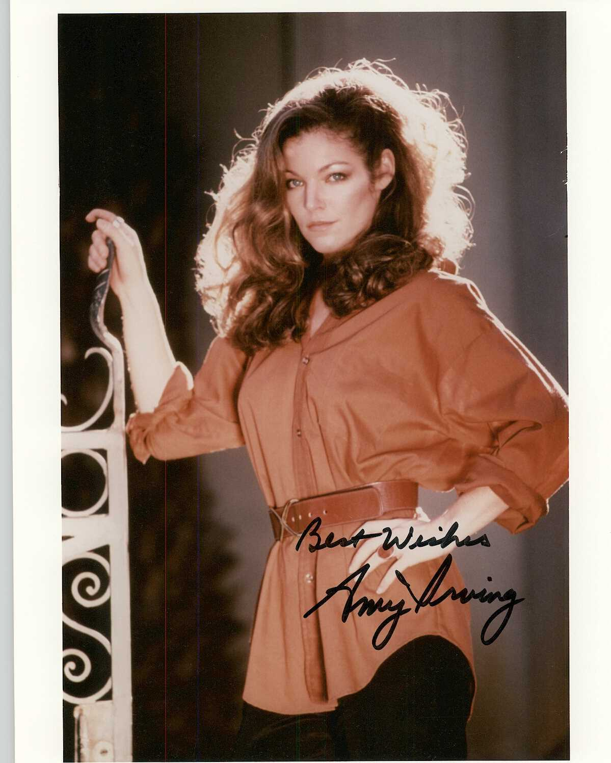Primary image for Amy Irving Signed Autographed Glossy 8x10 Photo